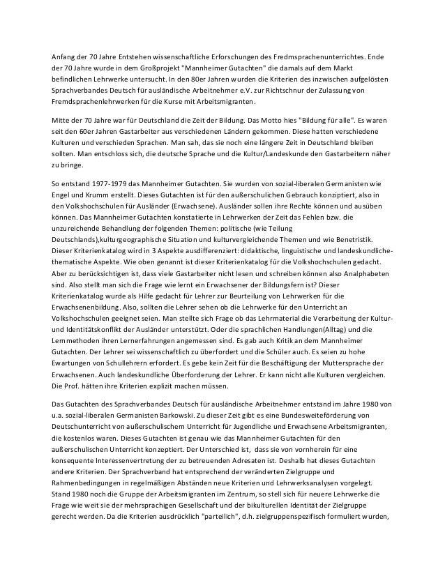 Anfang der 70 Jahre Entstehen wissenschaftliche Erforschungen des Fredmsprachenunterrichtes. Endeder 70 Jahre wurde in dem...