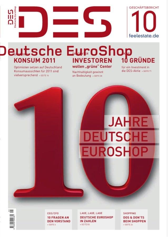 Geschäftsbericht 2010 Deutsche EuroShop AG