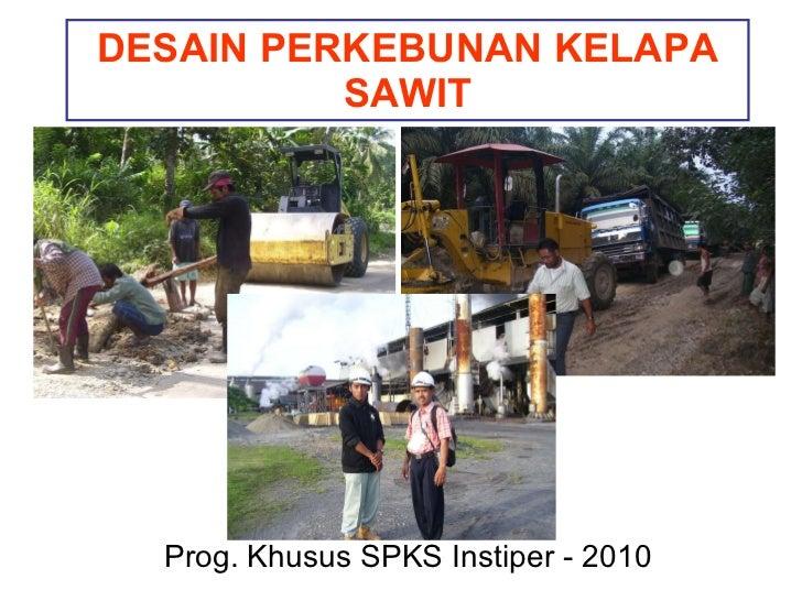 Desain perkebunan Kelapa Sawit