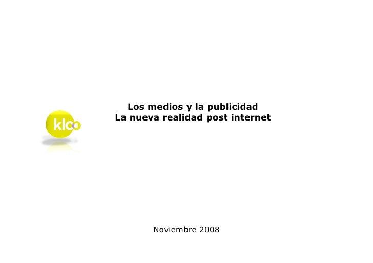 Desafios Publicitarios Diarios vs Web Kloo Nov2008