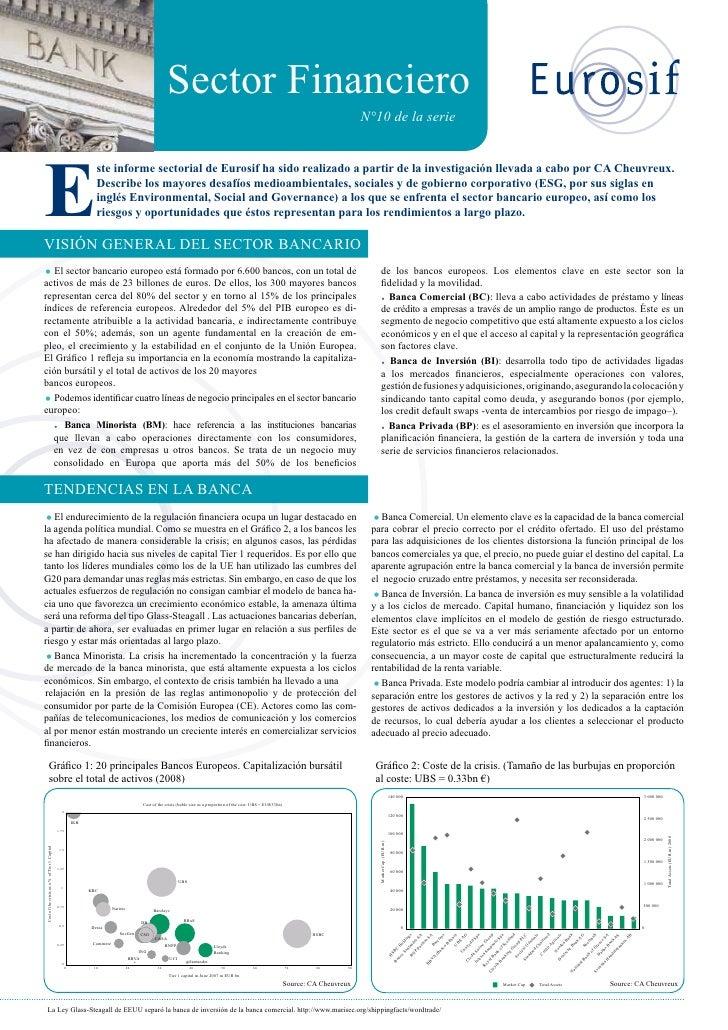 Desafios Sociales Y Ambientales Del Sector Financiero