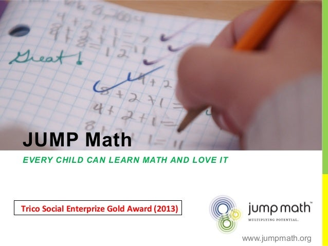 #DesafíoEducación John Mighton presents JUMP Math-Jun14