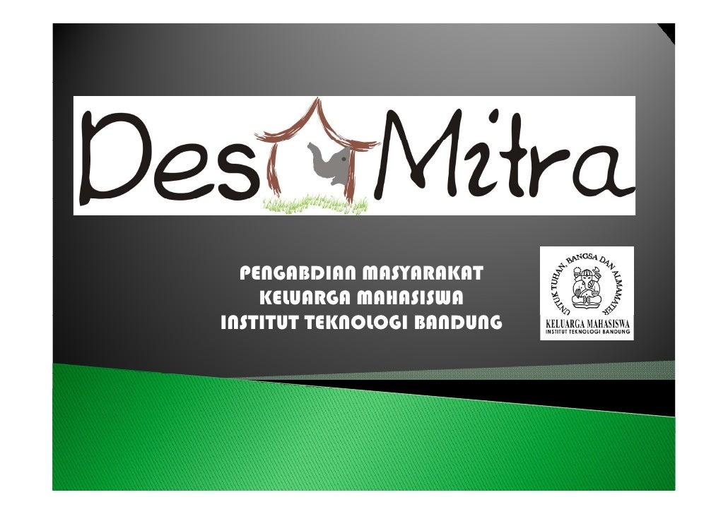 Desa Mitra KM ITB