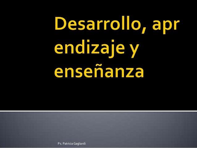 Ps. Patricia Gagliardi