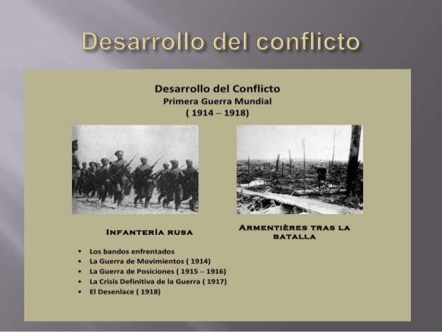    Periodo desde 1914 a 1918   Comienza en verano del 1914 con la crisis de    los Balcanes   28 de junio 1914 atentado...