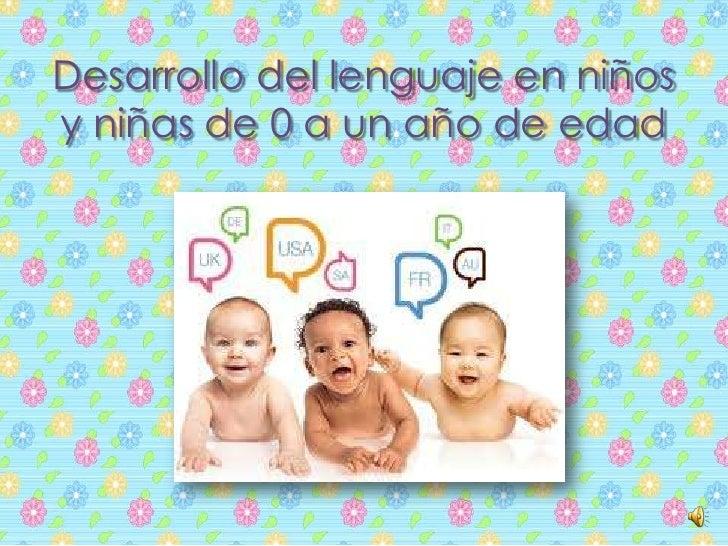 lenguaje en ninos:
