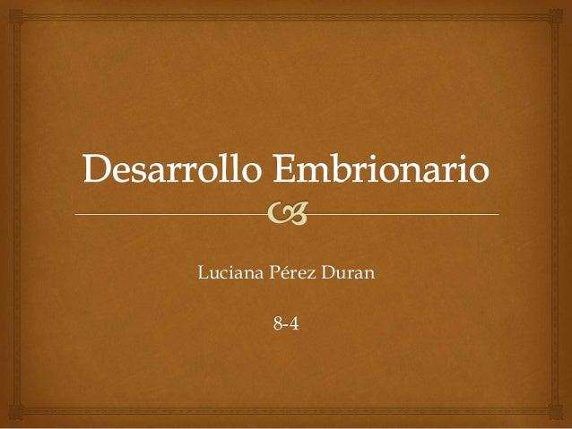 Luciana Pérez Duran 8-4
