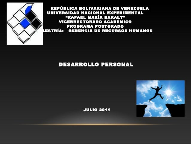"""REPÚBLICA BOLIVARIANA DE VENEZUELAUNIVERSIDAD NACIONAL EXPERIMENTAL""""RAFAEL MARÍA BARALT""""VICERRECTORADO ACADÉMICOPROGRAMA P..."""