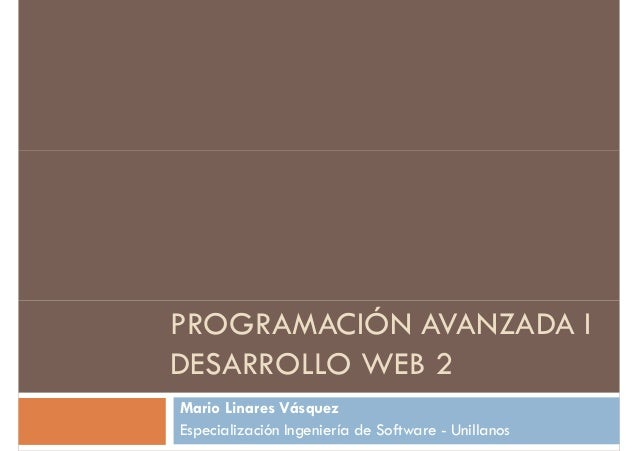 Desarrollo web2