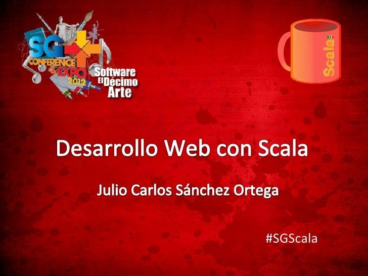 #SGScala