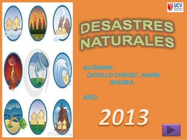 Desastres naturales 1 - Ambientadores naturales para la casa ...