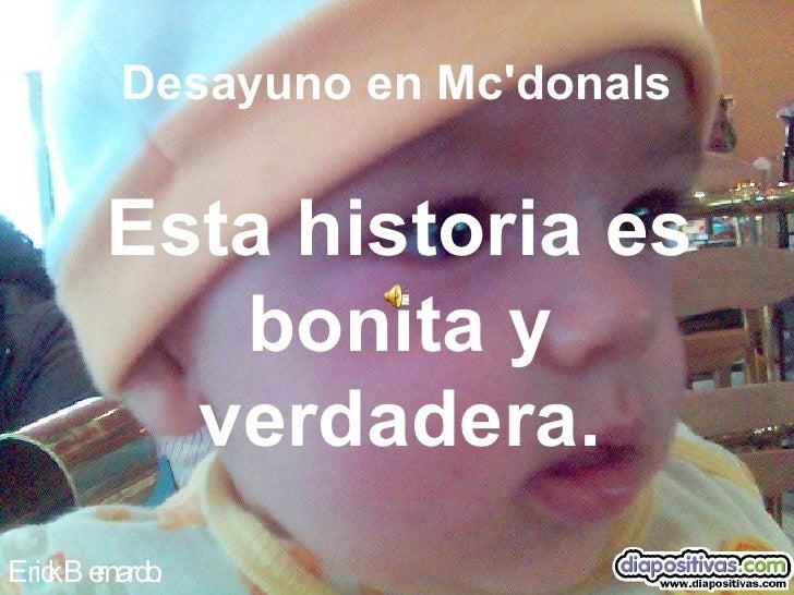 Desayuno En Mcdonals Diapositivas