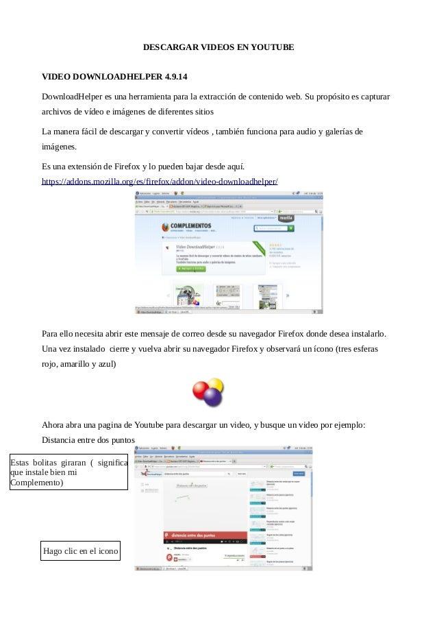 Descarga con Firefox