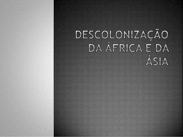 • A Conferência de Berlim foi  realizada pelos países  europeus com o objetivo de  organizar a ocupação da  África.  • Ess...