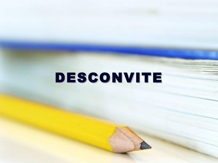 DESCONVITE