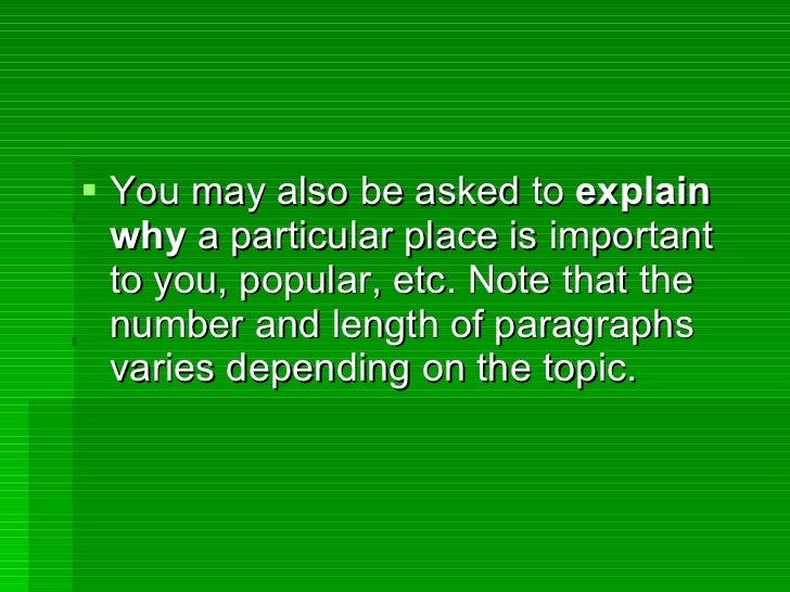 Describe Yourself Essay Examples