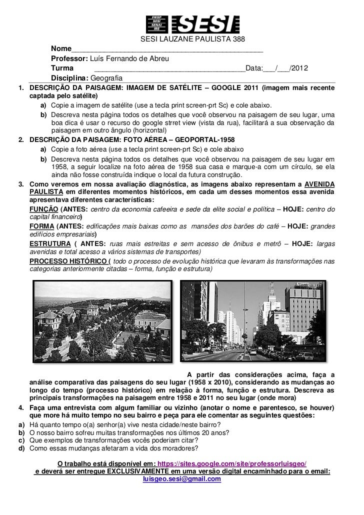 Descrição analise paisagem_1_ano -2012