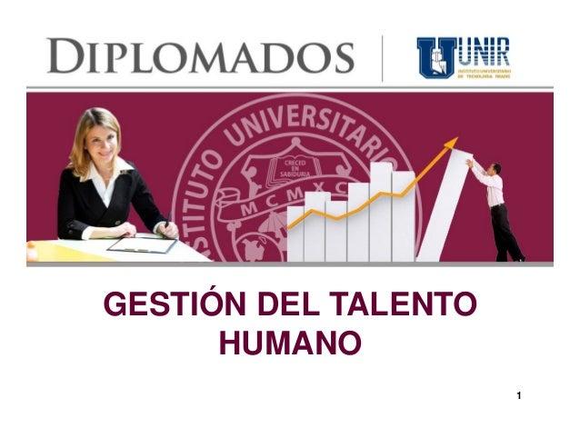 GESTIÓN DEL TALENTO      HUMANO                      1