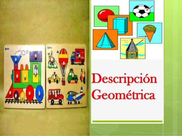Descripción geometrica