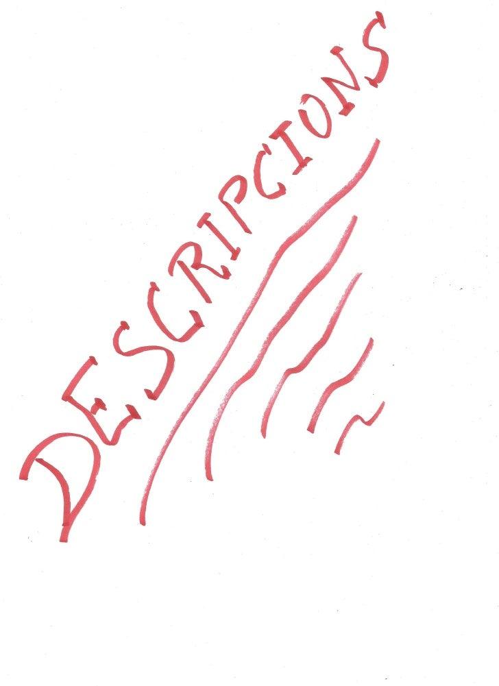 Descripcions