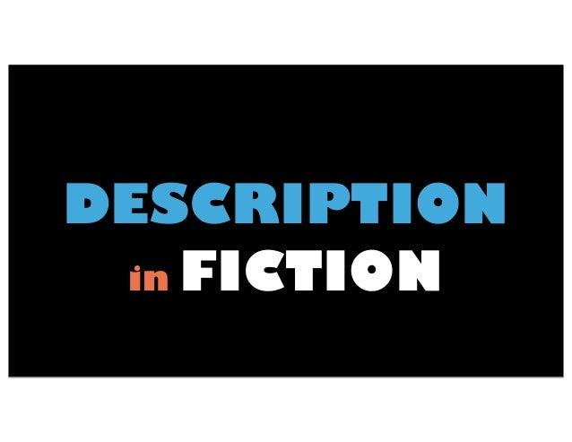 Description in fiction