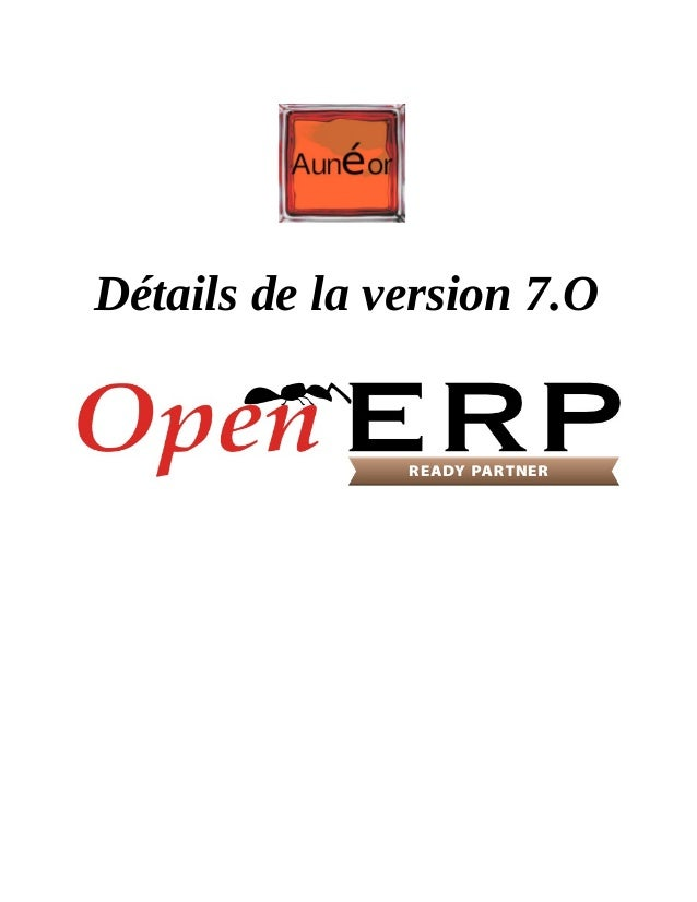 Description open erp_v_7