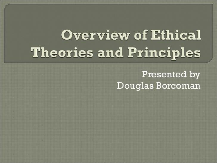 Presented by Douglas Borcoman