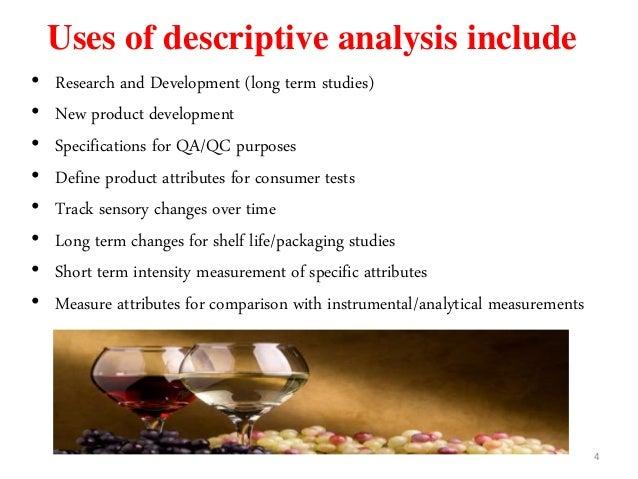 Descriptive Analysis | Services | Sensory Analysis Center ...