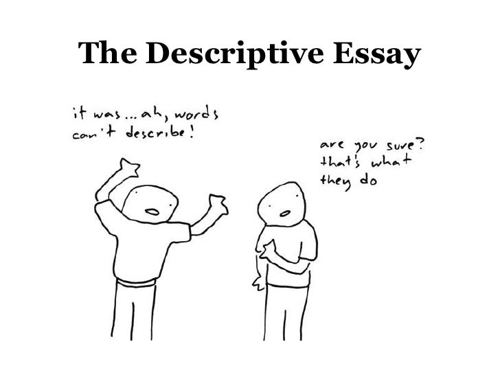 Descriptive Essay for Week 5
