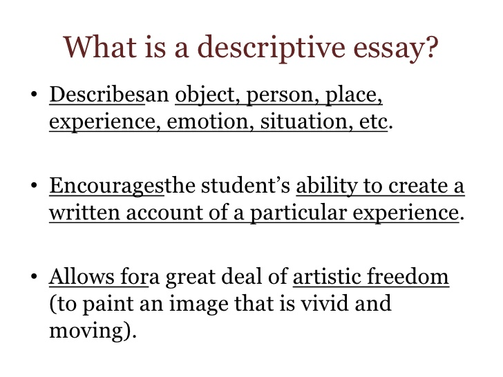 an object essay describe an object essay