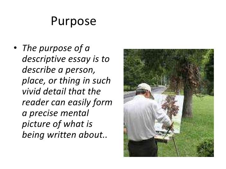How to write a descriptive essay about a place