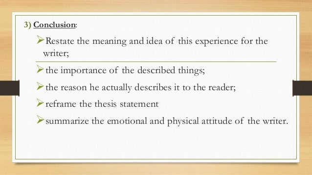defining experience essay Evaluate a significant experience essay - computer wizardry share tweet post message next essay prompt: please write an essay (250.