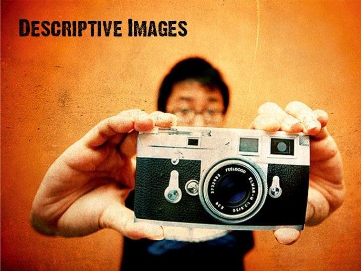 Descriptive images