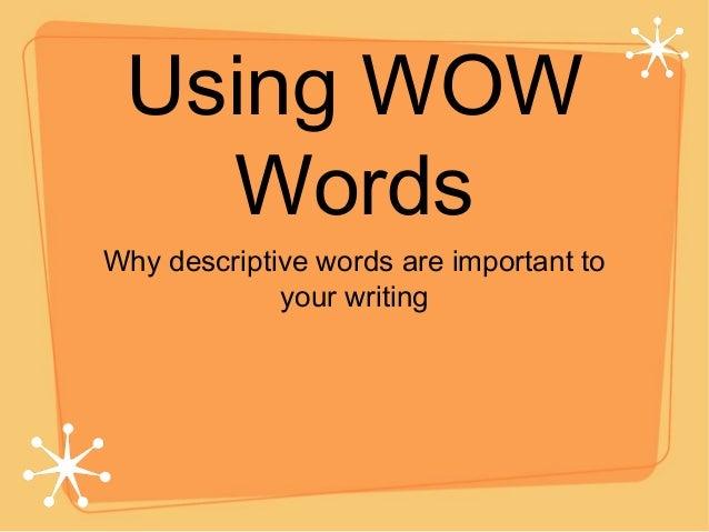 Descriptive Essay Writing Samples Examples