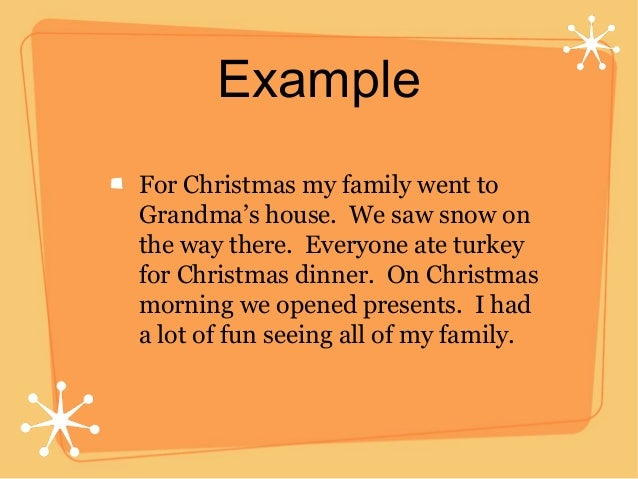 Christmas Time descriptive essay