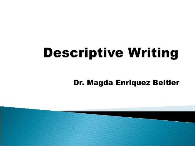 Topics For Descriptive Essays For College