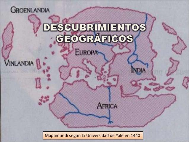 Mapamundi según la Universidad de Yale en 1440