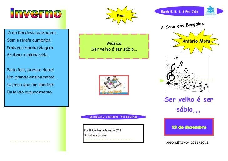 Escola E. B. 2, 3 Frei João                                                         Final                                 ...