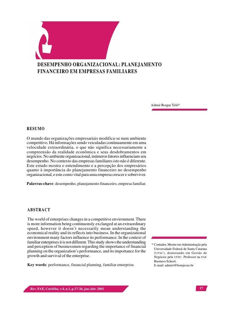 Desempenho Organizacional(4)