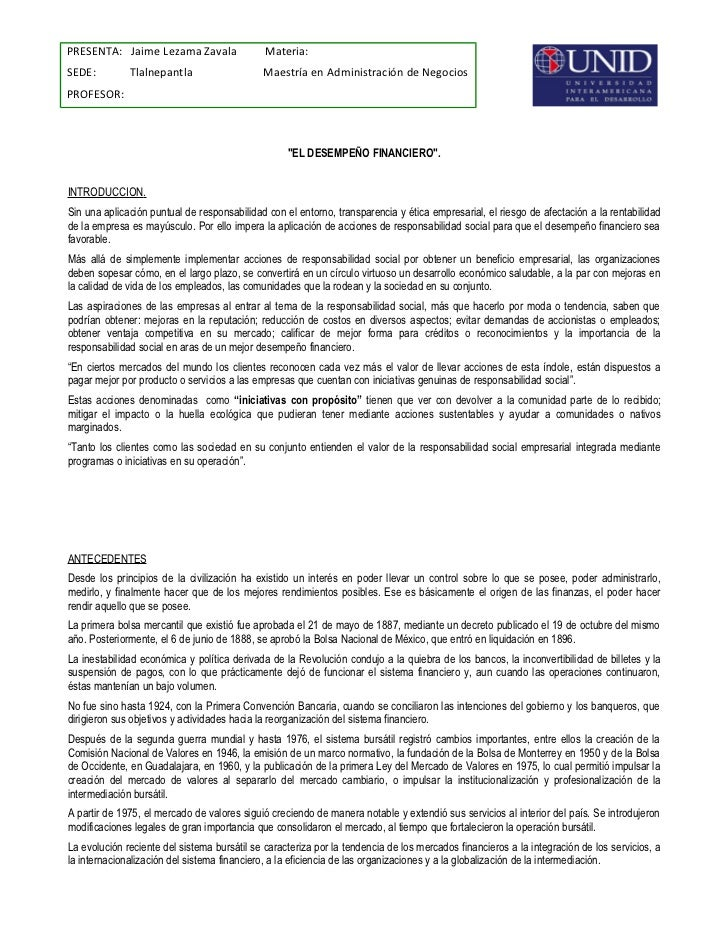 PRESENTA: Jaime Lezama Zavala                 Materia:SEDE:         Tlalnepantla                   Maestría en Administrac...