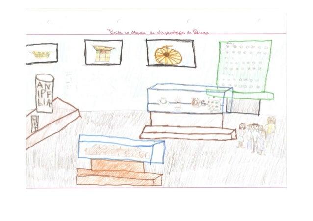 Desenhos visita estudo