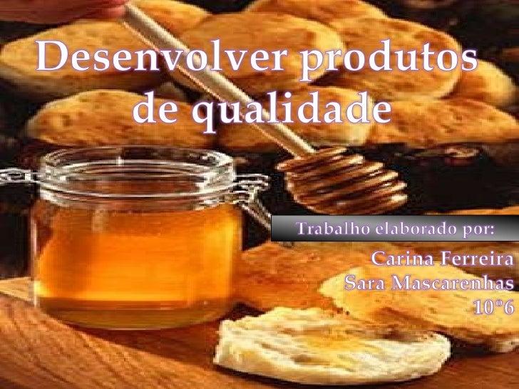 Desenvolver produtos de qualidade 11-6