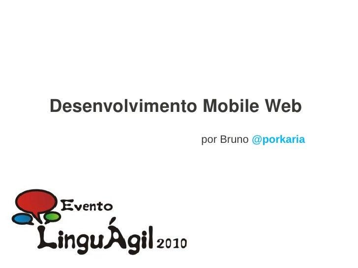 PHP e o Desenvolvimento Mobile Web no LinguAgil