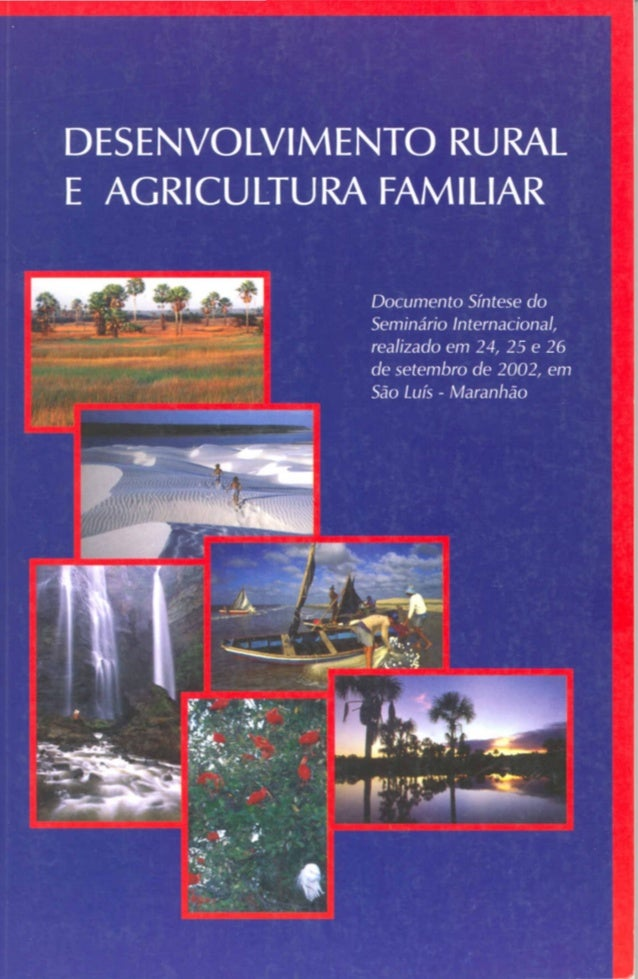 Desenvolvimento rural e Agricultura familiar