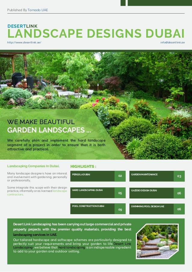 Landscaping companies in dubai gazebo design dubai for Landscaping companies