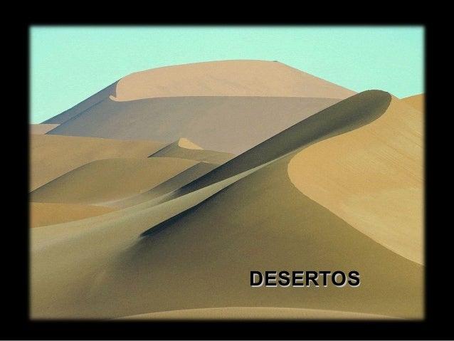 DESERTOSDESERTOS