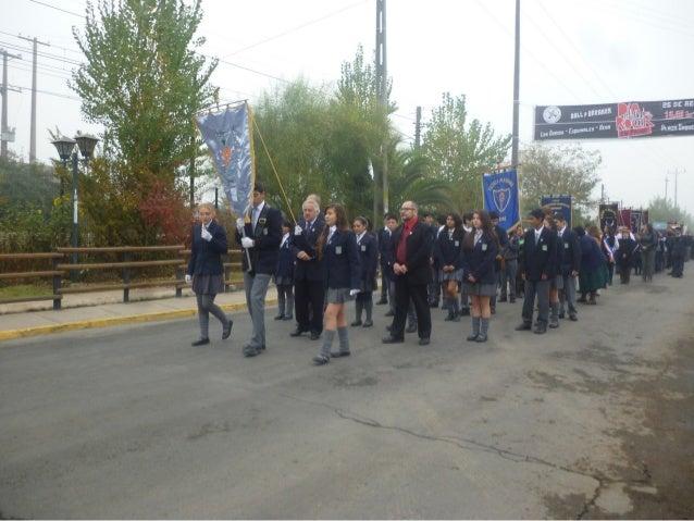 Desfile día del carabinero 2014