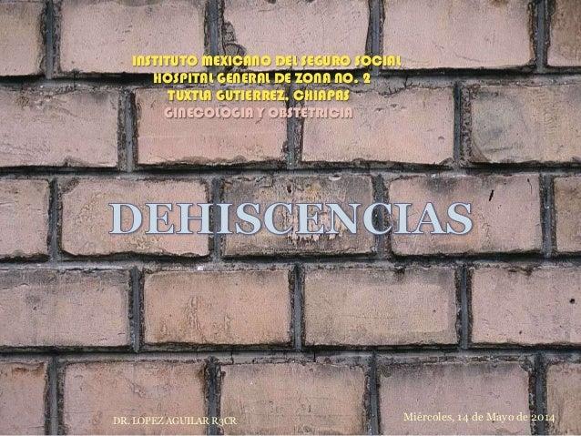 INSTITUTO MEXICANO DEL SEGURO SOCIAL HOSPITAL GENERAL DE ZONA NO. 2 TUXTLA GUTIERREZ, CHIAPAS GINECOLOGIA Y OBSTETRICIA Mi...