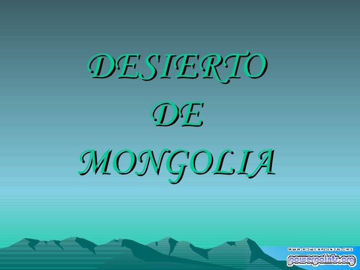 Desierto De Mongolia www.giiaa.com