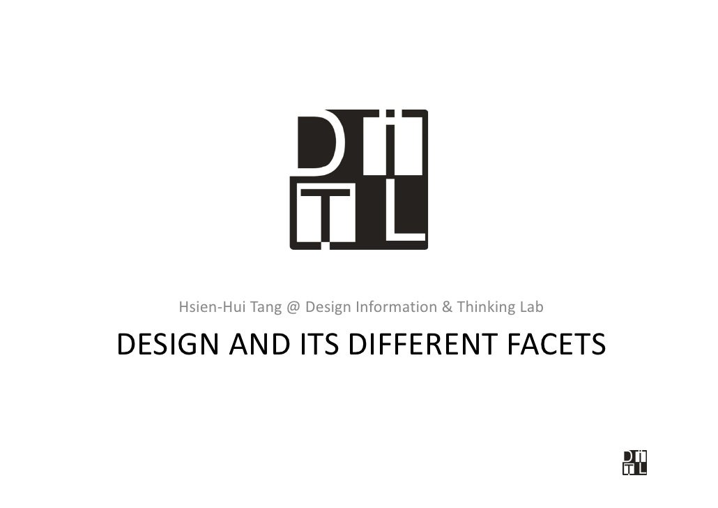 Design And Its Different Facets